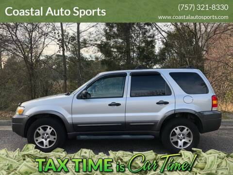 2005 Ford Escape for sale at Coastal Auto Sports in Chesapeake VA