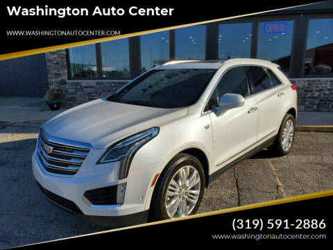 2017 Cadillac XT5 for sale at Washington Auto Center in Washington IA