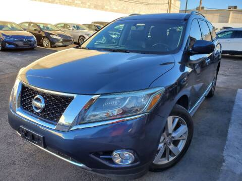 2013 Nissan Pathfinder for sale at Auto Center Of Las Vegas in Las Vegas NV