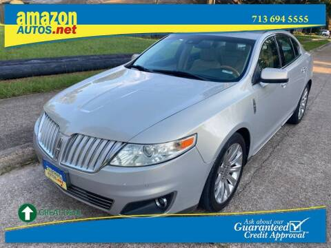 2009 Lincoln MKS for sale at Amazon Autos in Houston TX