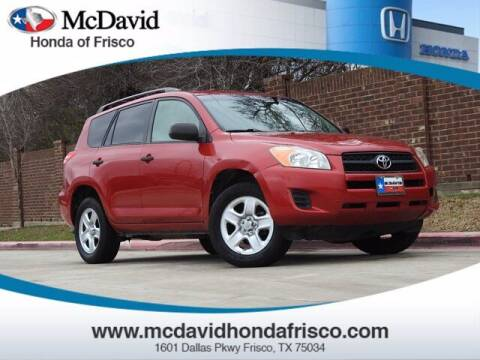 2010 Toyota RAV4 for sale at DAVID McDAVID HONDA OF IRVING in Irving TX