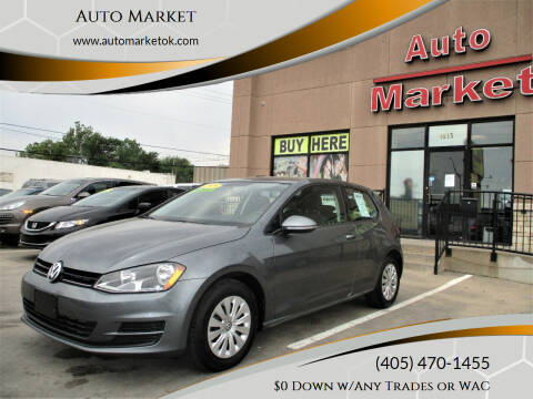2015 Volkswagen Golf for sale at Auto Market in Oklahoma City OK