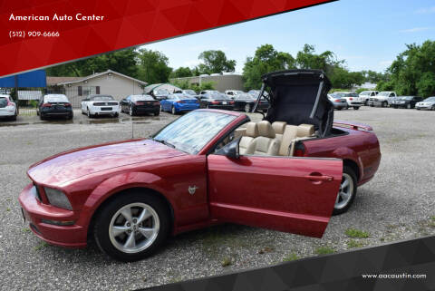 2009 Ford Mustang for sale at American Auto Center in Austin TX