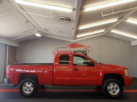 2010 Chevrolet Silverado 1500 for sale at Premium Motors in Villa Park IL
