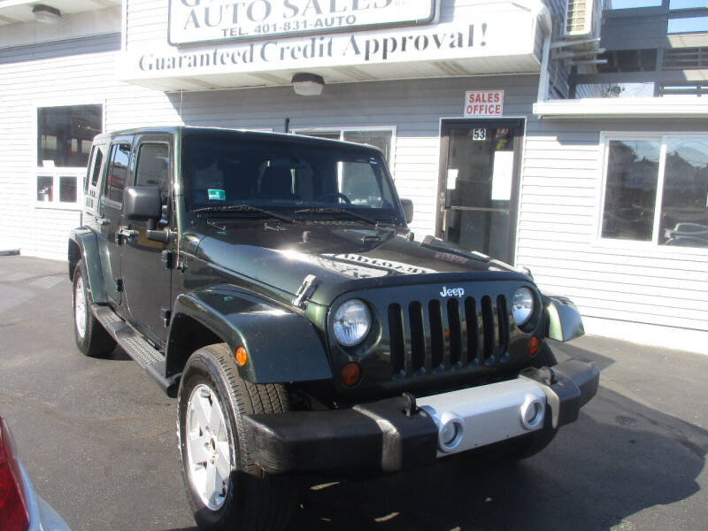 2011 Jeep Wrangler Unlimited for sale at Gold Star Auto Sales in Johnston RI
