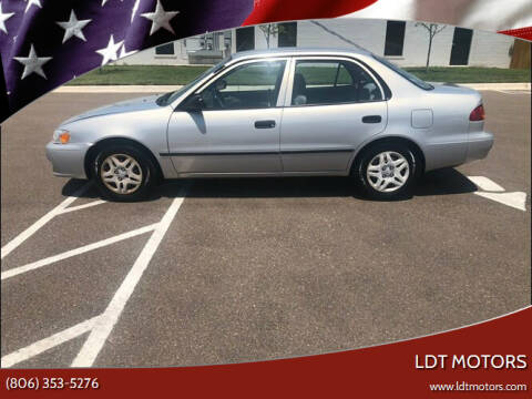 2002 Toyota Corolla for sale at LDT MOTORS in Amarillo TX