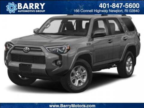 2020 Toyota 4Runner for sale at BARRYS Auto Group Inc in Newport RI