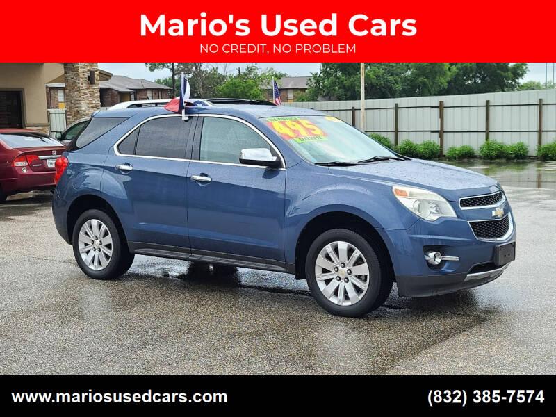 2011 Chevrolet Equinox for sale at Mario's Used Cars - Pasadena Location in Pasadena TX