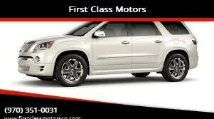 2009 GMC Acadia for sale at First Class Motors in Greeley CO