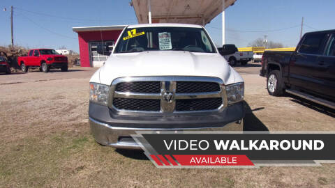 2017 RAM Ram Pickup 1500 for sale at 6 D's Auto Sales MANNFORD in Mannford OK