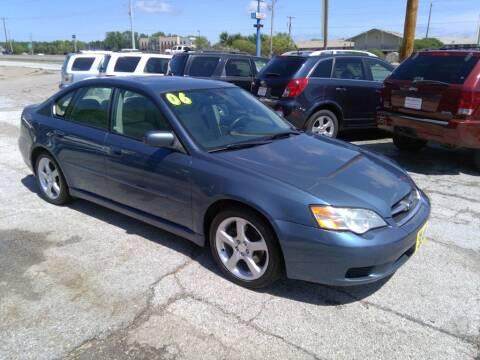 2006 Subaru Legacy for sale at Regency Motors Inc in Davenport IA