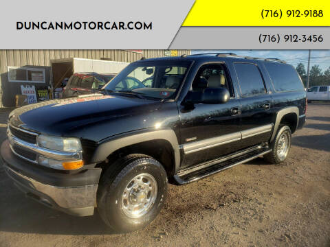 2003 Chevrolet Suburban for sale at DuncanMotorcar.com in Buffalo NY