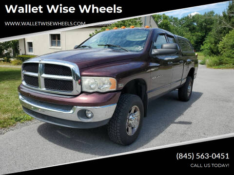 2004 Dodge Ram Pickup 2500 for sale at Wallet Wise Wheels in Montgomery NY