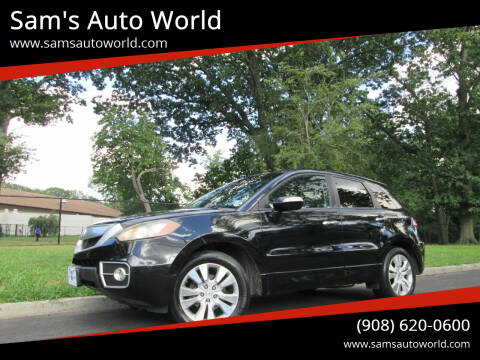 2010 Acura RDX for sale at Sam's Auto World in Roselle NJ