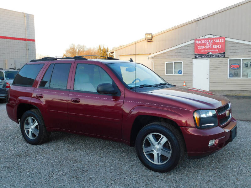 2006 Chevrolet TrailBlazer for sale at Macrocar Sales Inc in Akron OH
