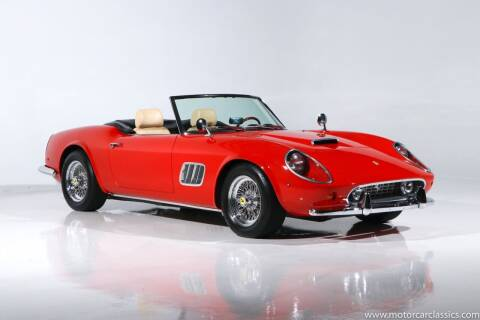 1961 Ferrari 250 GT for sale at Motorcar Classics in Farmingdale NY