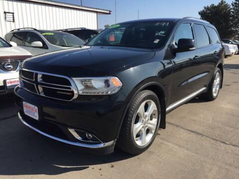 2014 Dodge Durango for sale at De Anda Auto Sales in South Sioux City NE