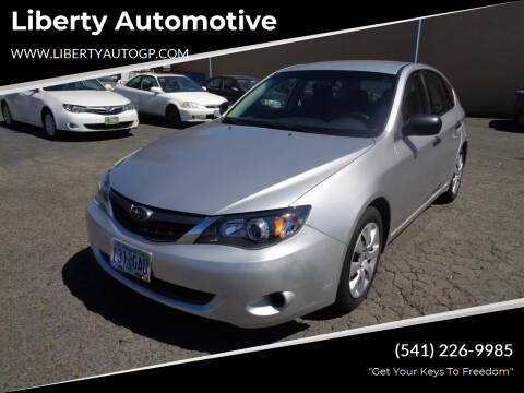 2008 Subaru Impreza for sale at Liberty Automotive in Grants Pass OR