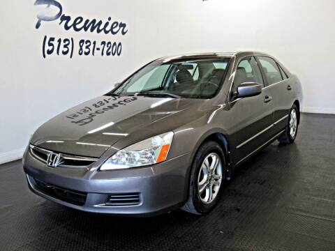 2006 Honda Accord for sale at Premier Automotive Group in Milford OH