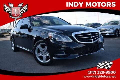 2014 Mercedes-Benz E-Class for sale at Indy Motors Inc in Indianapolis IN