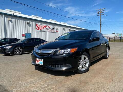 2013 Acura ILX for sale at SUPER AUTO SALES STOCKTON in Stockton CA
