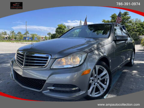 2013 Mercedes-Benz C-Class for sale at Amp Auto Collection in Fort Lauderdale FL