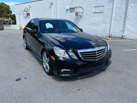 2011 Mercedes-Benz E-Class for sale at Consumer Auto Credit in Tampa FL