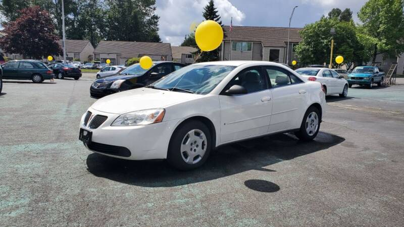2007 Pontiac G6 for sale at Good Guys Used Cars Llc in East Olympia WA
