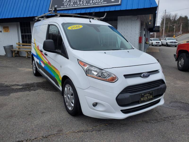 2016 Ford Transit Connect Cargo for sale at WEB NIK Motors in Fitchburg MA
