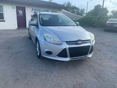2014 Ford Focus for sale at Excellent Autos of Orlando in Orlando FL
