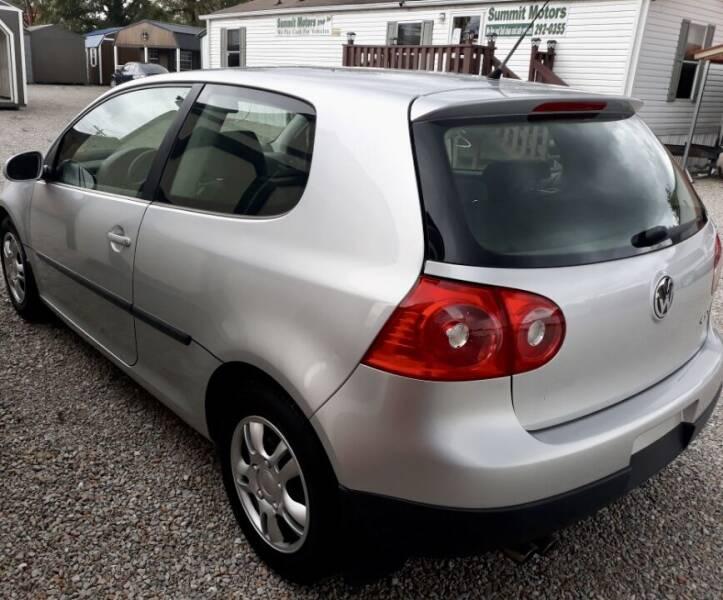 2007 Volkswagen Rabbit for sale at Summit Motors LLC in Morgantown WV