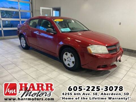 2008 Dodge Avenger for sale at Harr's Redfield Ford in Redfield SD