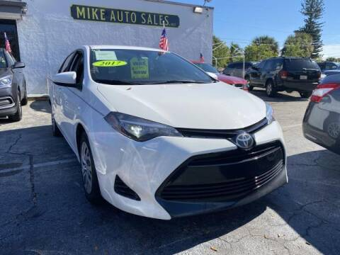 2017 Toyota Corolla for sale at Mike Auto Sales in West Palm Beach FL