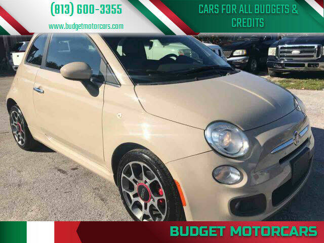 2012 FIAT 500 for sale at Budget Motorcars in Tampa FL