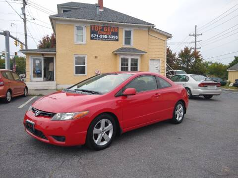 2007 Honda Civic for sale at Top Gear Motors in Winchester VA
