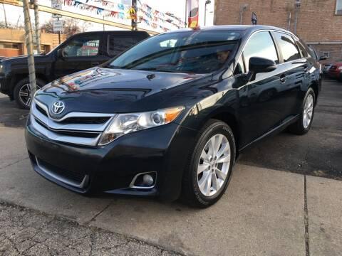 2013 Toyota Venza for sale at Jeff Auto Sales INC in Chicago IL