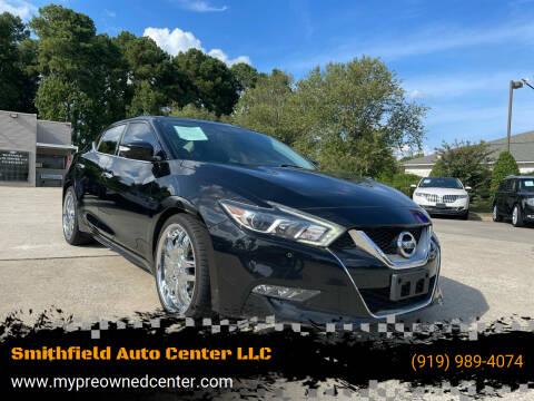 2016 Nissan Maxima for sale at Smithfield Auto Center LLC in Smithfield NC