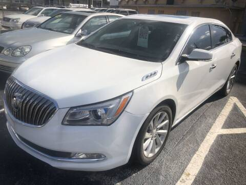 2016 Buick LaCrosse for sale at WHEEL UNIK AUTOMOTIVE & ACCESSORIES INC in Orlando FL