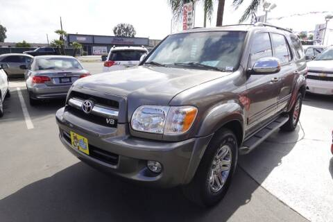 2007 Toyota Sequoia for sale at CARSTER in Huntington Beach CA