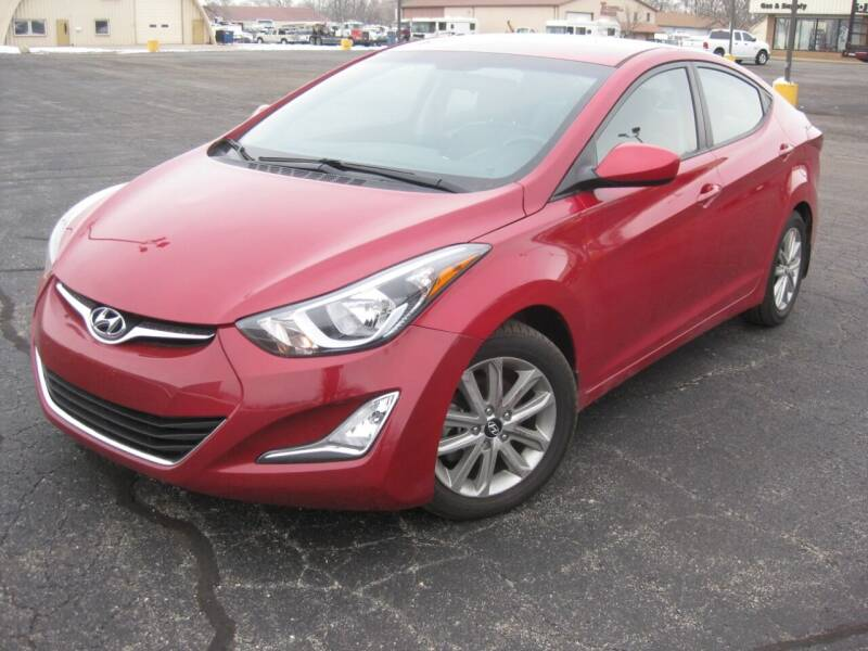 2015 Hyundai Elantra for sale at Pre-Owned Imports in Pekin IL