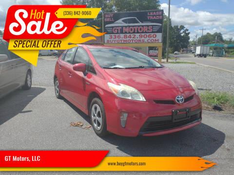 2012 Toyota Prius for sale at GT Motors, LLC in Elkin NC