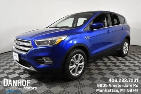 2017 Ford Escape for sale at Danhof Motors in Manhattan MT