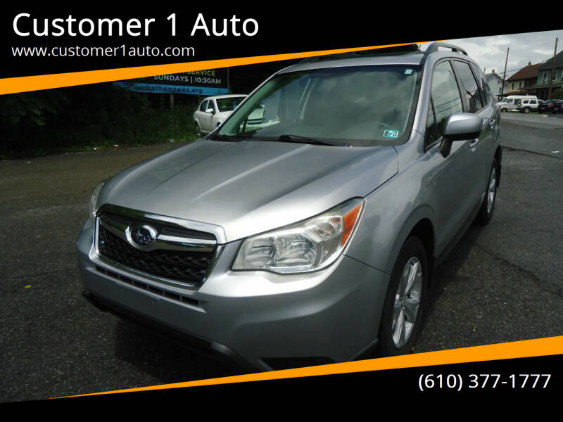 2014 Subaru Forester for sale at Customer 1 Auto in Lehighton PA