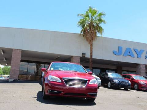 2014 Chrysler 200 for sale at Jay Auto Sales in Tucson AZ