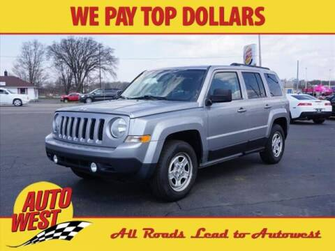 2014 Jeep Patriot for sale at Autowest Allegan in Allegan MI