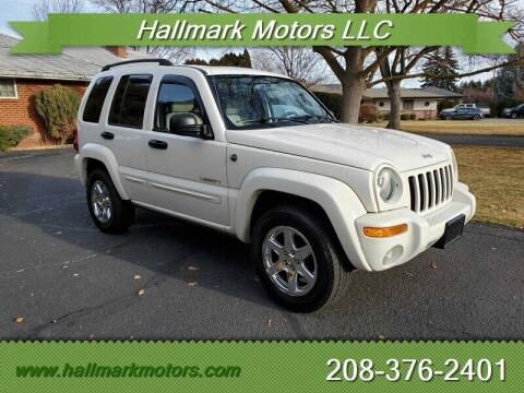 2004 Jeep Liberty for sale at HALLMARK MOTORS LLC in Boise ID