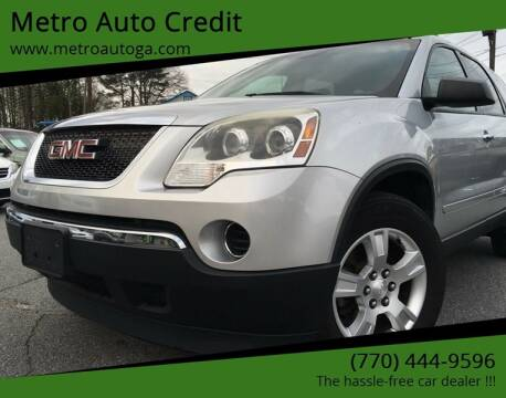 2011 GMC Acadia for sale at Used Imports Auto - Metro Auto Credit in Smyrna GA