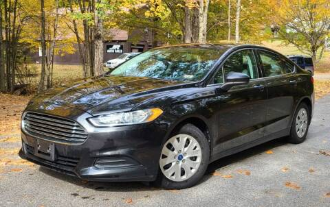 2013 Ford Fusion for sale at JR AUTO SALES in Candia NH
