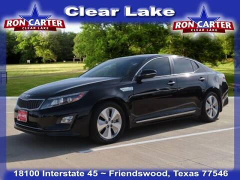 2015 Kia Optima Hybrid for sale at Ron Carter  Clear Lake Used Cars in Houston TX