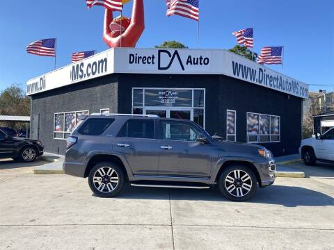 2016 Toyota 4Runner for sale at Direct Auto in D'Iberville MS